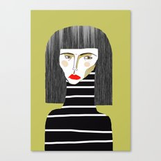 Fashion Illustration. Canvas Print