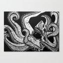 Sharktopus Canvas Print