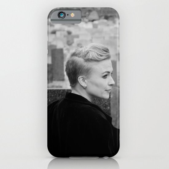 Lady of the churchyard iPhone & iPod Case