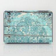 Teal & Aqua Botanical Do… iPad Case