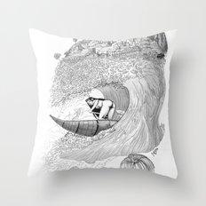 Machu Qun Tiksi Wiraqucha Throw Pillow