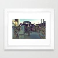 Society6 SAFE TRANSPORT Framed Art Print