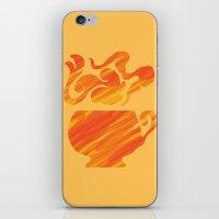 Mate Tea, Yellow on Yellow iPhone & iPod Skin