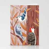Autumn Birds Stationery Cards
