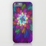 iPhone & iPod Case featuring Psychedelic Flower by Gabiw Art