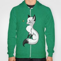Fox and a Butterfly Hoody