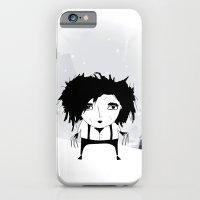 iPhone & iPod Case featuring Edward Scissorhands by missmalagata
