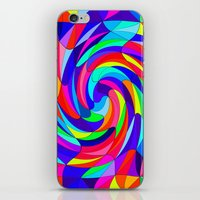 Crazy Colours iPhone & iPod Skin