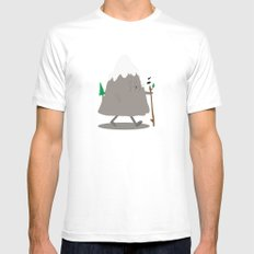 Lil' Hiker SMALL White Mens Fitted Tee