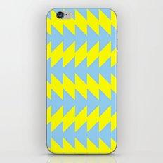 Van Zanen Yellow & Blue iPhone & iPod Skin