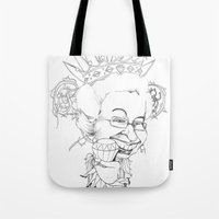 Diamonds Are A Girl's Be… Tote Bag