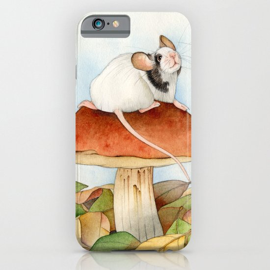 Mouse & Beaver iPhone & iPod Case