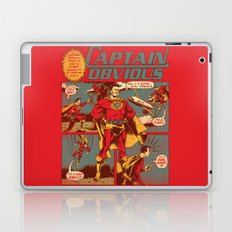 Captain Obvious! Laptop & iPad Skin