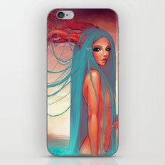 The muse of the lake iPhone & iPod Skin