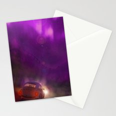 the pink and violet Stationery Cards