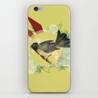 Out On A Limb iPhone & iPod Skin