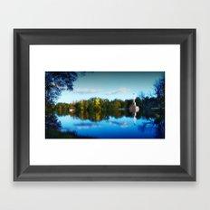 The Golden Pond Framed Art Print