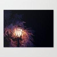 The Light Canvas Print