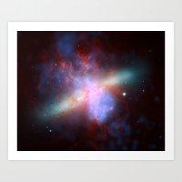 Cosmic Galaxy Art Print