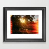 Love From Sunrise Till S… Framed Art Print