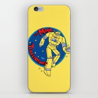 The Magic Transformer iPhone & iPod Skin