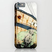 iPhone & iPod Case featuring Boat Wreck #1 by Marc Loret