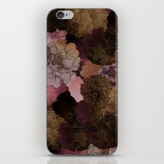 FLORAL PINKS iPhone & iPod Skin