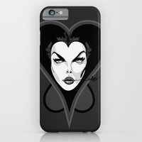 iPhone & iPod Case featuring Queen of Hearts by The Headless Fish