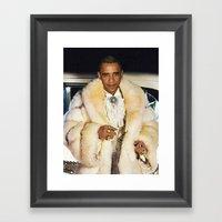 Fabulous Obama Framed Art Print