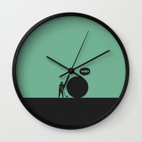 WTF? Golf Wall Clock
