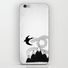 Mountain Swallow iPhone & iPod Skin