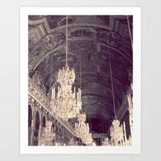 Le Chandelier Art Print