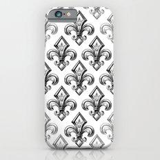 Royal - fleur de lys Slim Case iPhone 6s