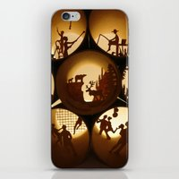 iPhone & iPod Skin featuring Rolls 1 (Rouleaux 1) by Anastassia Elias
