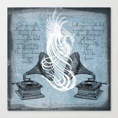 The Phoenix Rises Canvas Print