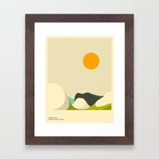 YOSEMITE NATIONAL PARK, TENAYA LAKE Framed Art Print