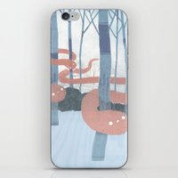 Snakes In The Forest iPhone & iPod Skin