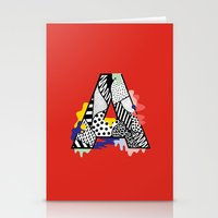 A for ….. Stationery Cards