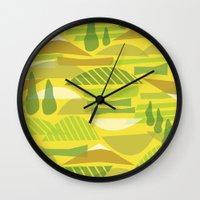 Italian Countryside Wall Clock