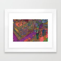 Ipaneman Dreams Framed Art Print