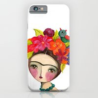 Frida And The Bird In Her Hair iPhone 6 Slim Case