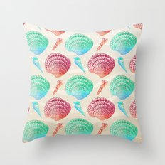 Marine Pattern 07 Throw Pillow