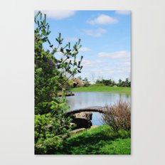 crossing over... Canvas Print