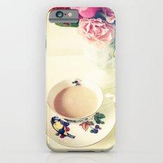Roses and Chai Tea iPhone 6s Slim Case