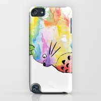 iPhone Cases featuring My Rainbow Totoro by scoobtoobins