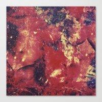 She Dances At Starlight Canvas Print