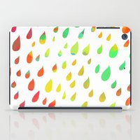 IT RAINED ALL DAY- COLOR iPad Case