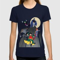 Teen Titans Womens Fitted Tee Navy SMALL