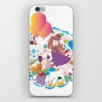 Ambrosia With Balloon iPhone & iPod Skin