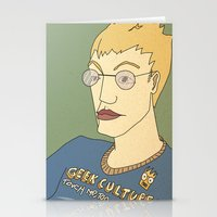 Geek Culture / Touch Me,… Stationery Cards